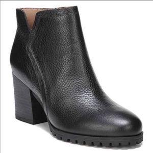 NEW Franco Sarto | blocked heel black Maysen 11